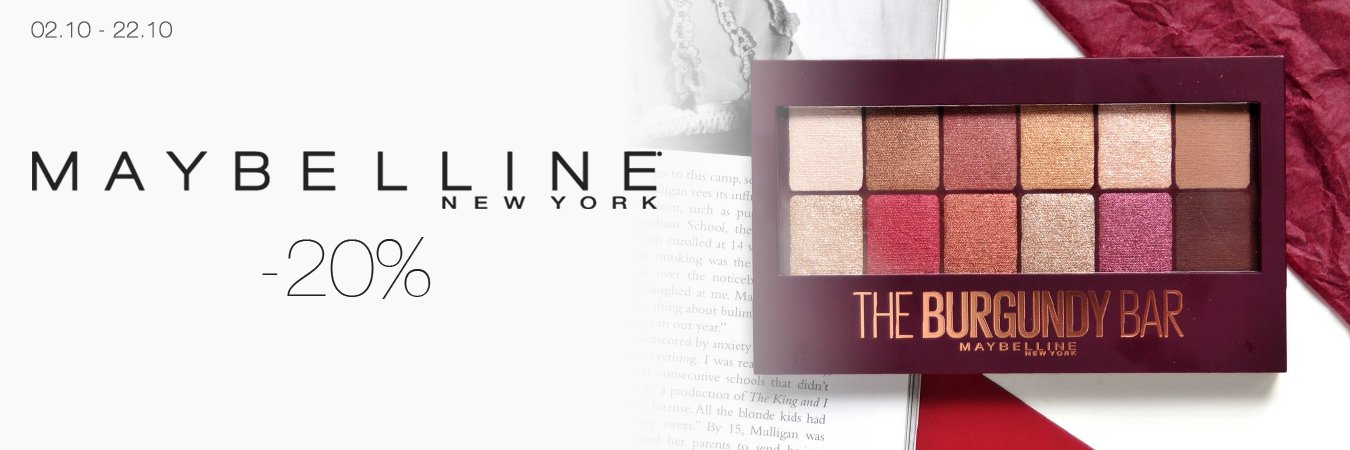 Maybelline -20%